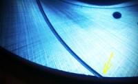 насечки тормозного диска Power friction