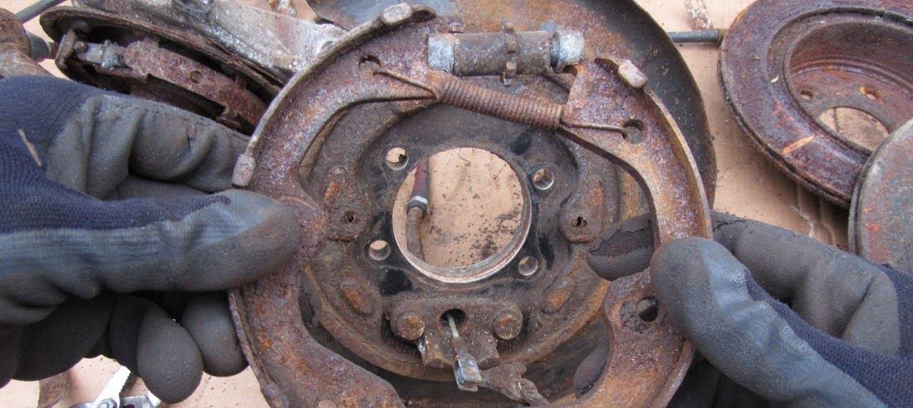 Ремкомплект ручника, монтажный набор стояночного тормоза