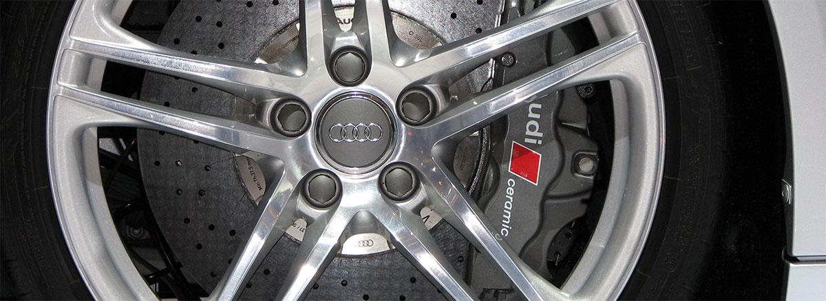 Тормозные диски и колодки Audi