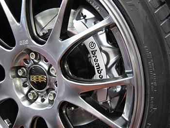 VW Touareg Brembo brakes